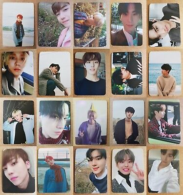 LOT of 20 PENTAGON Authentic Official PHOTOCARD DEMO_02 5th Album Full Set
