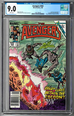 The Avengers #263 CGC 9.0 (Jan 1986, Marvel) Sub-Mariner, Return of Jean Grey