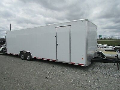 American Hauler 28' Enclosed Race Trailer *loaded* On Sale Now  @ Dr Trailer