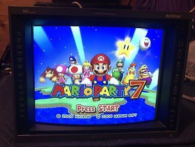 "Sony PVM-14L5 14"" Monitor Retro Gaming Perfect Condition CRT 240p 480p 720p 1080"