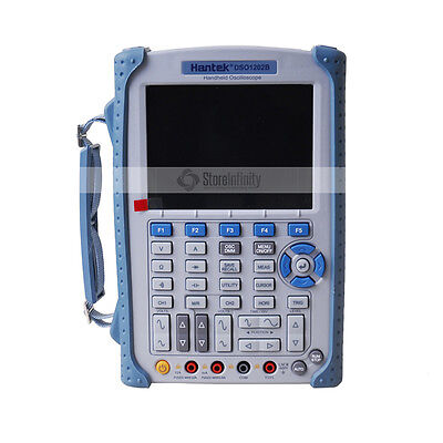 Hantek DSO1202B Handheld Portable Scope Meter / Oscilloscope 200MHz