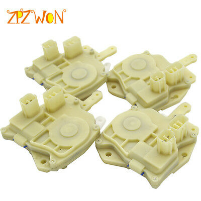 4 Sides Complete Set Power Door Lock Actuator for Honda Accord Civic Odyssey