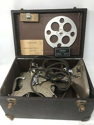 ** Vintage KEYSTONE A-82 16mm Film Projector w/ Case Sold As Is  See Details  **