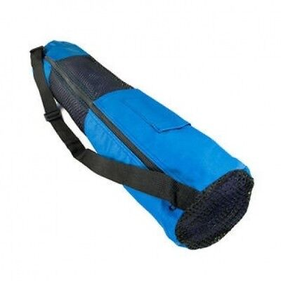 70cm X 14cm X 0.2cm Nylon Bag with Mesh Centre, Royal Blue. CLEVERBRAND INC.