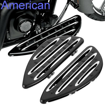 CNC Cut Front Driver Stretched Floorboard For Harley Touring Glide1986-2016 87