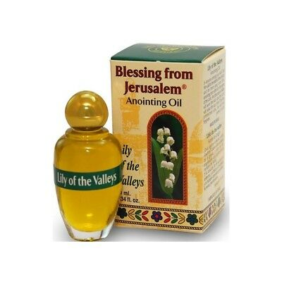 Huile d'Onction de Jérusalem - Lily of the Valleys  -  10 ml - Neuf