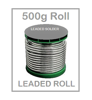Leaded Solder Wire 500G - Free Delivery