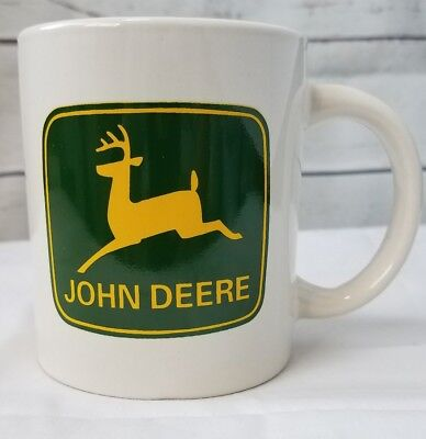 John Deere Mug Licensed Product Marketed By Gibson Coffee Tea Hot Coco Mug Cup..