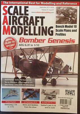 Scale Aircraft Modeling Bomber Genesis September 2015 FREE SHIPPING!