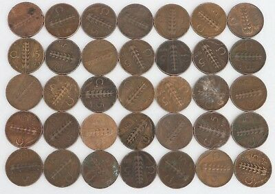 5 Centesimi Italy 1920-1936 Coin Lot Of 35 World Foreign Combined Shipping C57