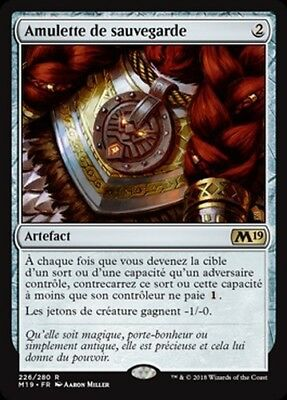 AMULETTE DE SAUVEGARDE  R  X1  magic 2019