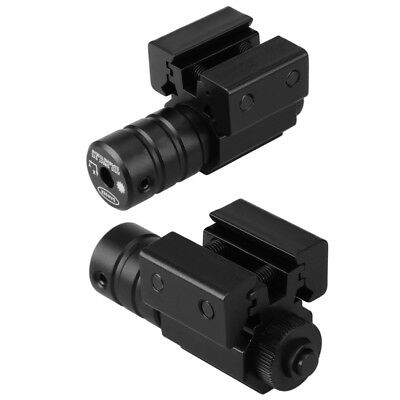 Stark Laserpointer Rot Laser Punkt Sight Schiene Slots Beam Scope +Mount 11&20mm