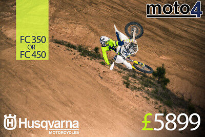 Husqvarna 2018 Fc 350 Fc 450 Massive End Of Season Sale Call For Best Prices