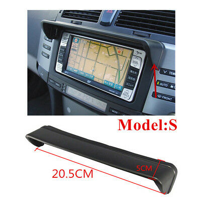 20.5 x 5CM Car GPS Navigation Hood Sun Shade Navigator Screen Block (Model - S)