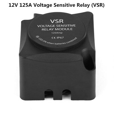 125A Voltage Sensitive Relay (VSR) Automatic Charging Dual Battery Isolator(VSR)