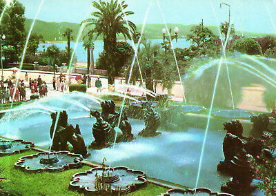 Abchasien  -  Sochumi / Sukhumi - The Fountain in the city center on Black Sea