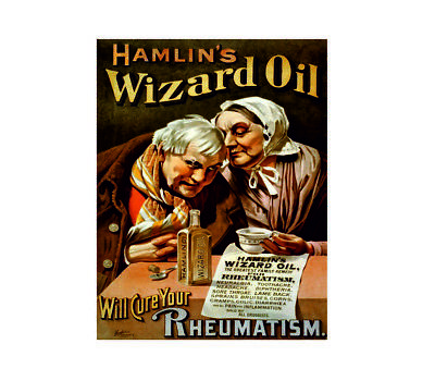 Hamlin's wizard oil greatest family remedy vintage style metal wall plaque sign