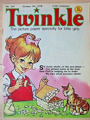 TWINKLE COMIC - 7th OCTOBER 1978 - NOVEL 40th BIRTHDAY GIFT!!