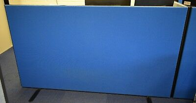 Office Partition Board - Dark Blue - Free Standing