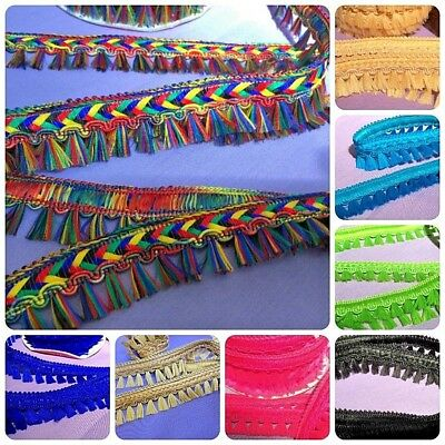 Decorative Dress Furnishing Trimming Assorted Colours
