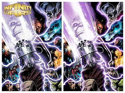 Infinity Wars #1 Philip Tan Variant Virgin + Trade Dress Sold Out!