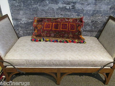 """2'x2'10"""" Decorative Pillow Cover Wall/Sofa Hanging Hand-knotted Wool Rug 582986"""