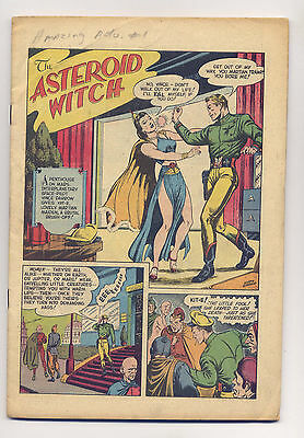 Amazing Adventures #1 1950 COVERLESS ~ Z-D Wally Wood Murphy Anderson Schomberg