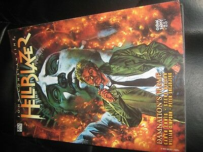 DC Comics / Vertigo - Hellblazer Damnations Flame Graphic Novel - Garth Ennis