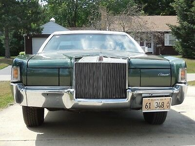 1972 Lincoln Mark Series Factory Leather 1972 Lincoln Continental Mark IV, Original Owner