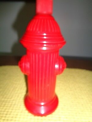 AVON RED FIRE HYDRANT~VINTAGE COLLECTIBLE~empty