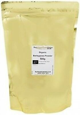 Buy Whole Foods Organic Barleygrass Powder 500 G. Unbranded. Best Price