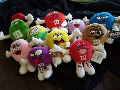 M & M 10 Mini Swarmees Plush Toys