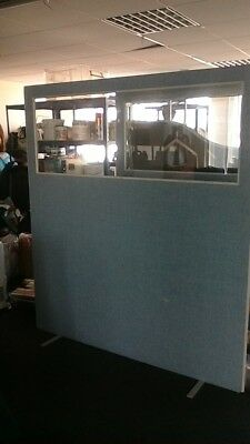Office Dividing Screens with 'window' free standing
