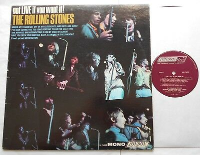 THE ROLLING STONES Got Live if you Want it CANADA ORIG 1966 FFrr MONO LL 3493 LP