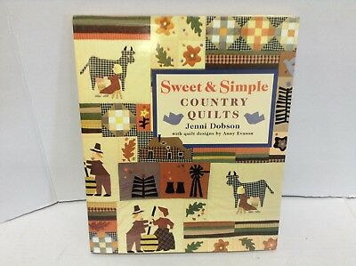 Sweet & Simple Country Quilts by Jenni Dobson quilt designs by Anny Evason Book