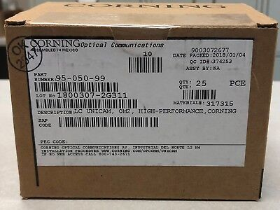 95-050-99 LC Unicam, OM2, High Performance Connector
