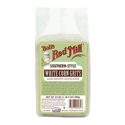 White Corn Grits -Pack of 4. Bobs Red Mill. Shipping is Free