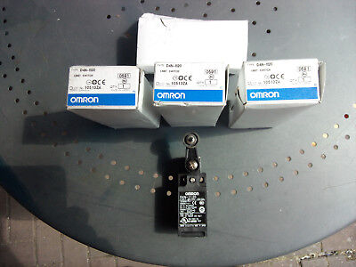 4 x Omron DN4-1120 Limit Switches