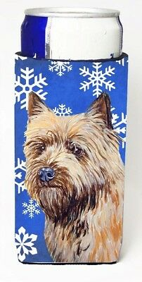 Carolines Treasures LH9275MUK Cairn Terrier Winter Snowflakes Holiday Michelob