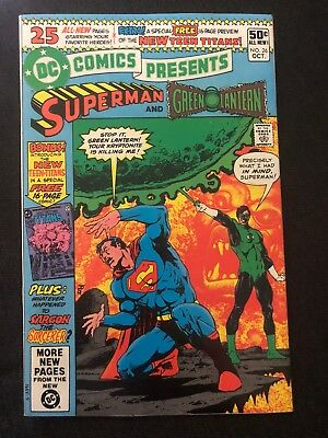 DC Comics Presents # 26 - First Appearnance Of Raven, Starfire And Cyborg