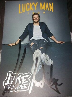 LUKE MOCKRIDGE - Originalautogramm- Lucky Man- 10x15