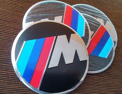 M-Power Wheel Rim Center 56mm Stickers for Cap Replacement Decal Aluminum all