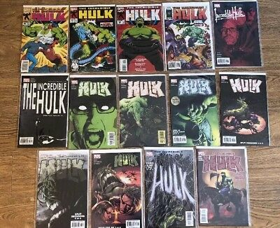 The Incredible Hulk Job Lot x 14 Comics
