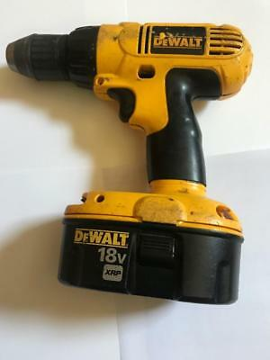 Dewalt DC970 18 V  1/2'' Cordless Drill / Driver FOR PARTS OR not working
