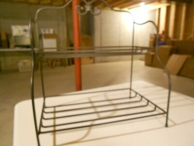 * LONGABERGER * Wrought Iron Foundry Collection (SMALL BAKERS RACK) Item # 71641