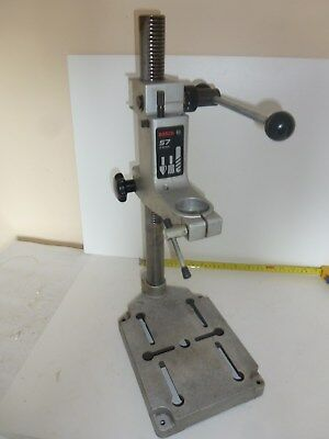 Bosch S7 drill stand for drilling milling and router work