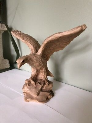 Eagle Sculpture Plaster Unique
