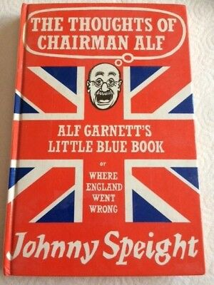 Signed By Warren Mitchell The Thoughts Of Chairman Alf West Ham Alf Garnett