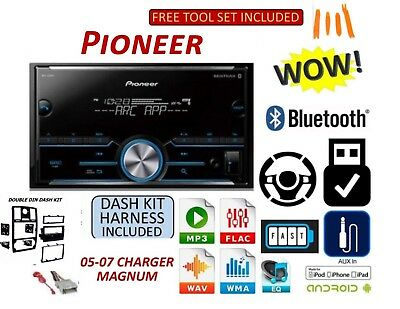 05 06 07 DODGE MAGNUM CHARGER BLUETOOTH AUX USB MP3 CD USB Car Radio Stereo