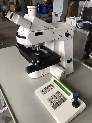 Zeiss Microscope AXIOPLAN 2 with scanning-kreuztisch and Joystick